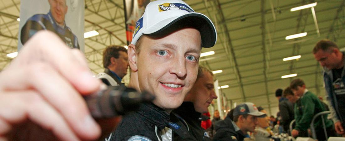 Hirvonen Piloto de pruebas de TOYOTA WRC
