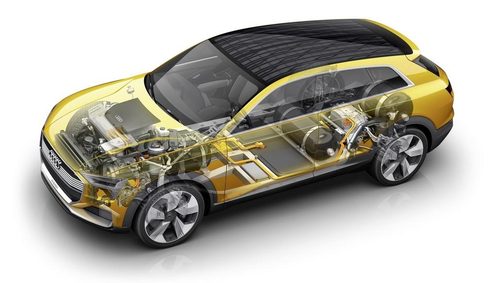 Audi pila de Hidregeno