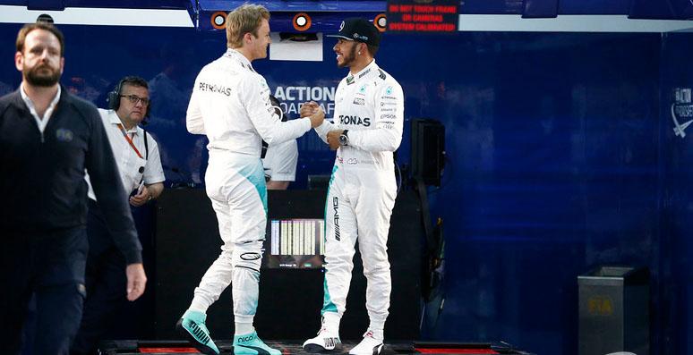 Guerra silenciosa entre Nico y Hamilton