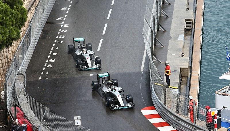 Hamilton y Rosberg GP Monaco