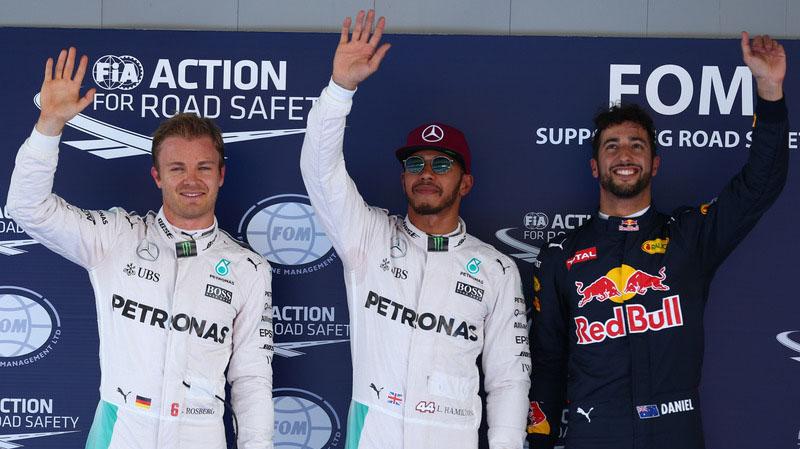 Lewis Hamilton pole GP espana 2016