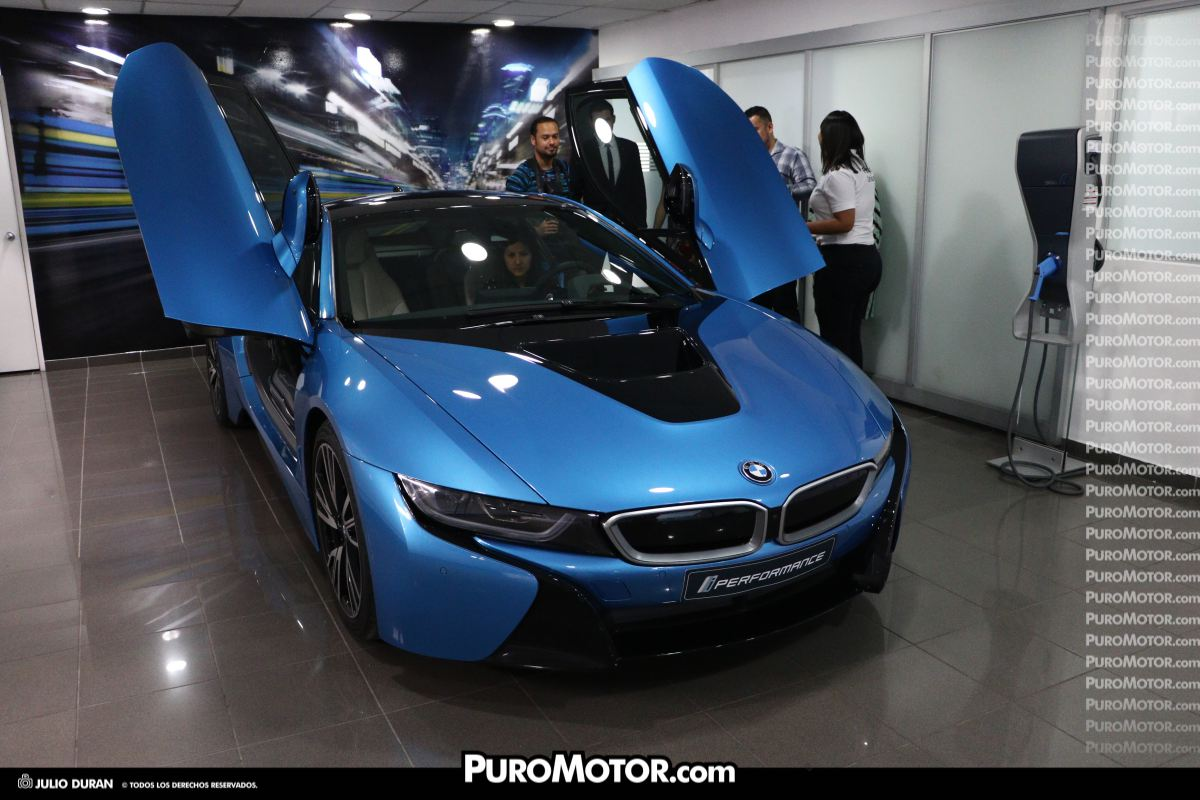 Bmw I8 El Deportivo Electrico Futurista Ya Esta Aqui Puro Motor