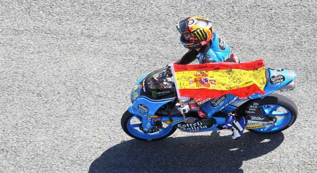 Arón Canet gana en el GP de España de Moto3