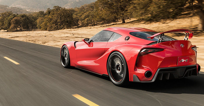 Se Filtran Las Primeras Im 225 Genes Del Nuevo Toyota Supra