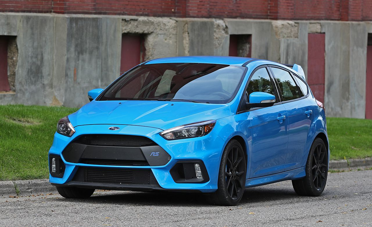 ford focus rs tested  michelin pilot sport cup  tires review car  driver photo