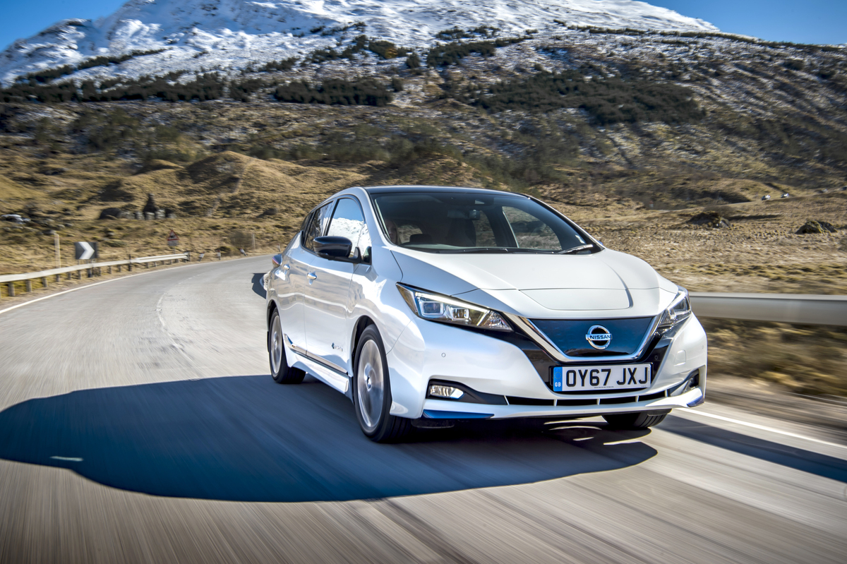 Nissan Leaf Gana Premio Al Mejor Automovil Electrico Puro Motor