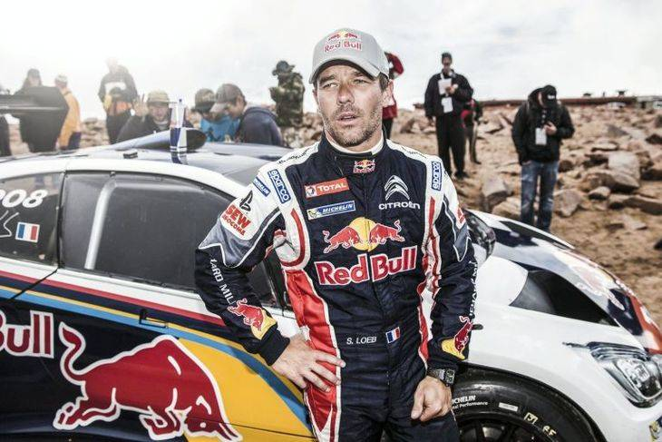 sebastien loeb anuncia su presencia en el rally dakar 2019 puro motor. Black Bedroom Furniture Sets. Home Design Ideas