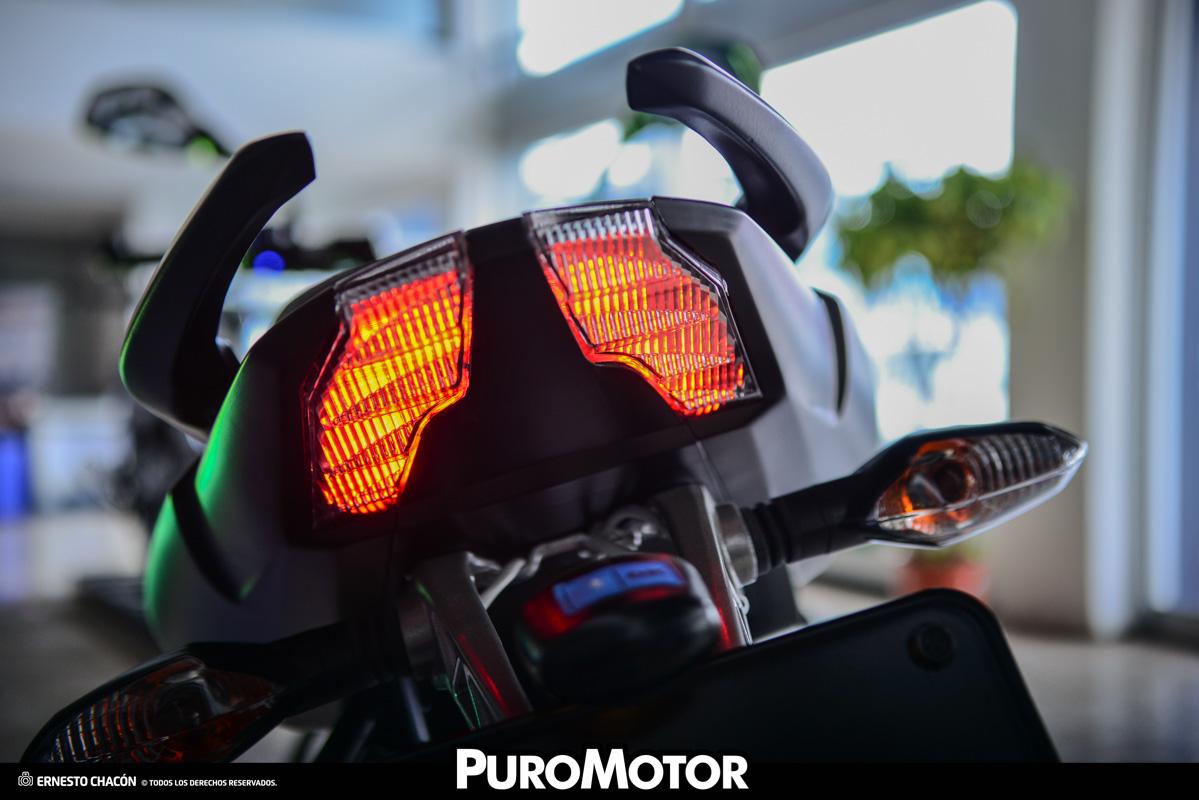 Pulsar NS 160, eficiente y diseño llamativo