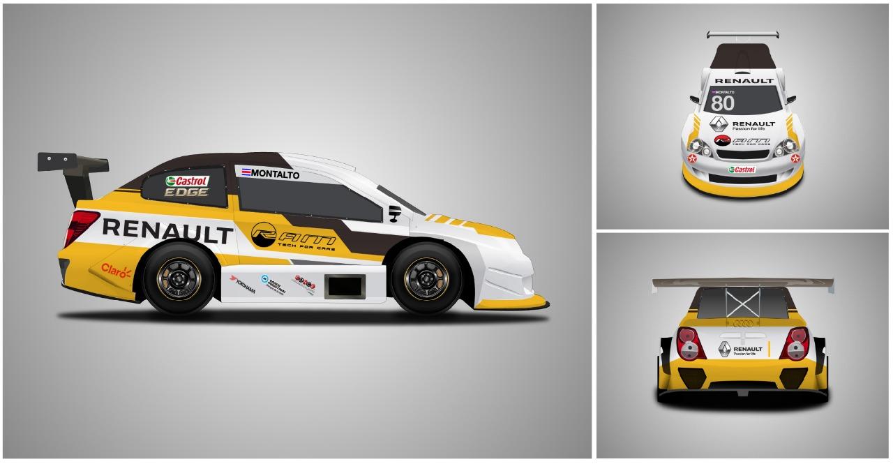 Calendario Autodromo Pedro Cofino 2019.Montalto Es El Piloto Del Renault Sport Team En El Brand Prix