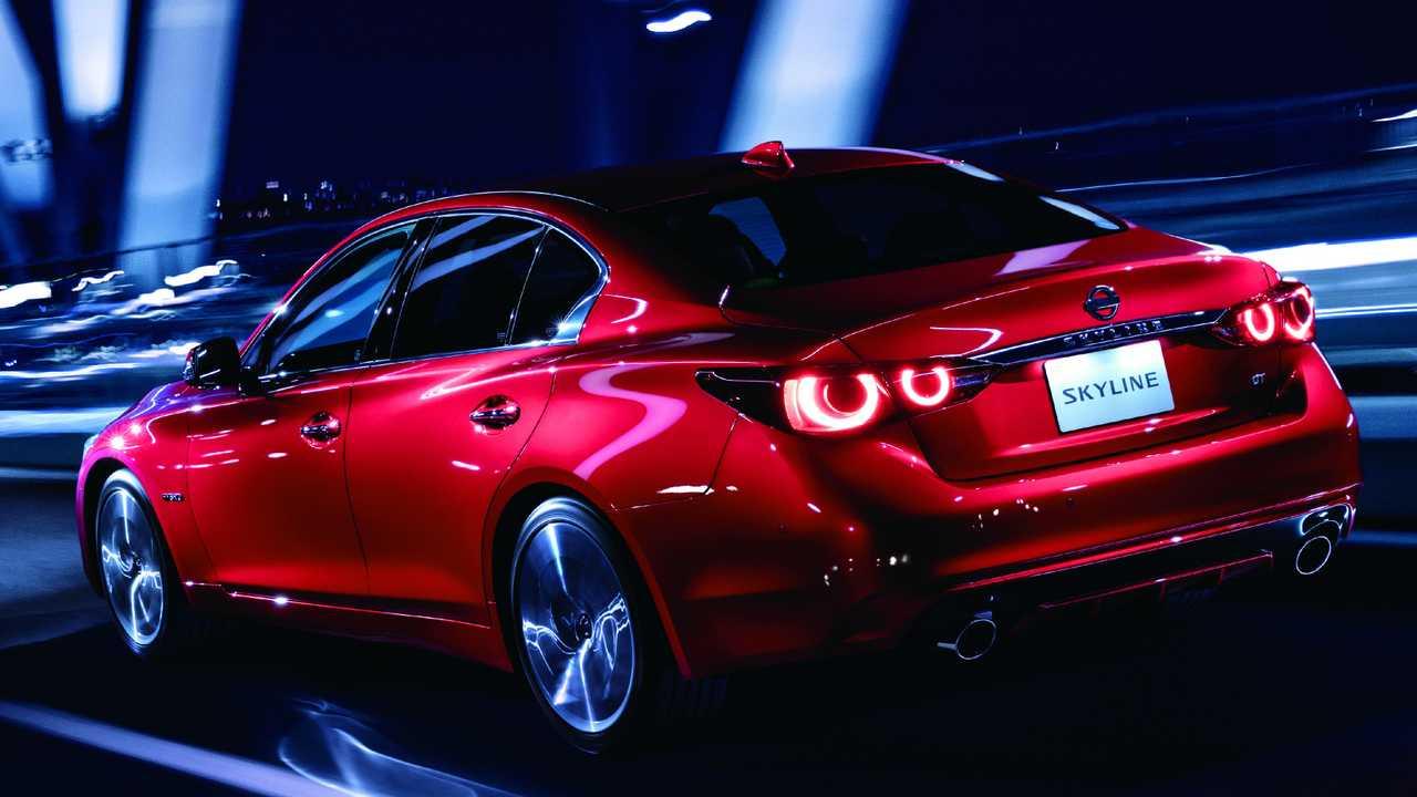 Nissan Skyline 2020, más espacioso y potente que nunca