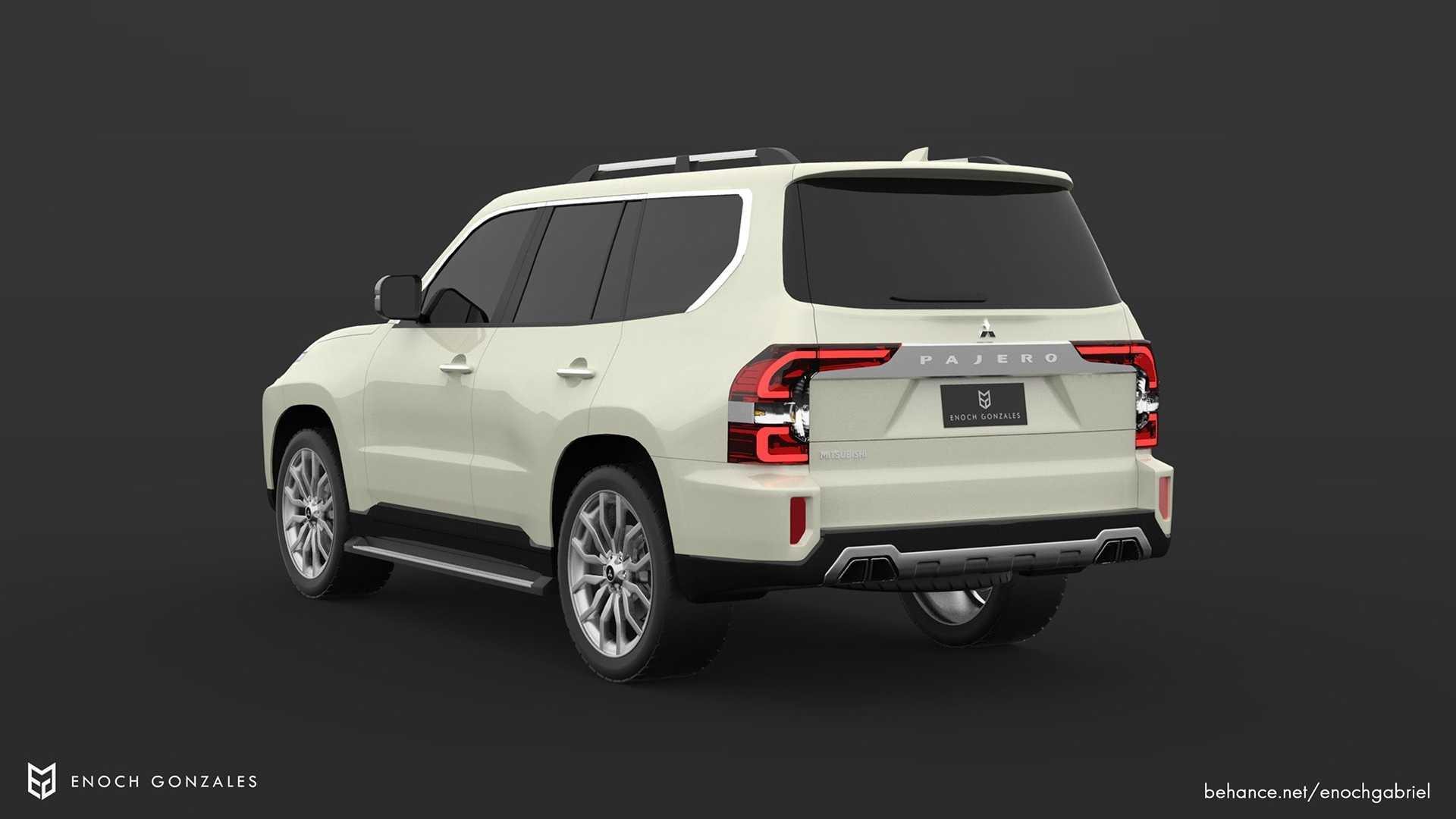 Así sería el nuevo Mitsubishi Montero 2021 | Puro Motor
