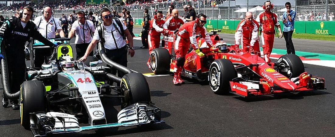 Ferrari y mercedes pueden acabar con la F1