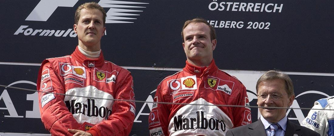 Barrichello reclama un título de Schumacher